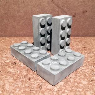 - Concrete With Magnet  - 20X42X13mm THK.  - 0.065 KG