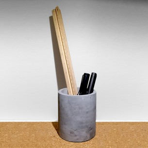 - Concrete Pen holder