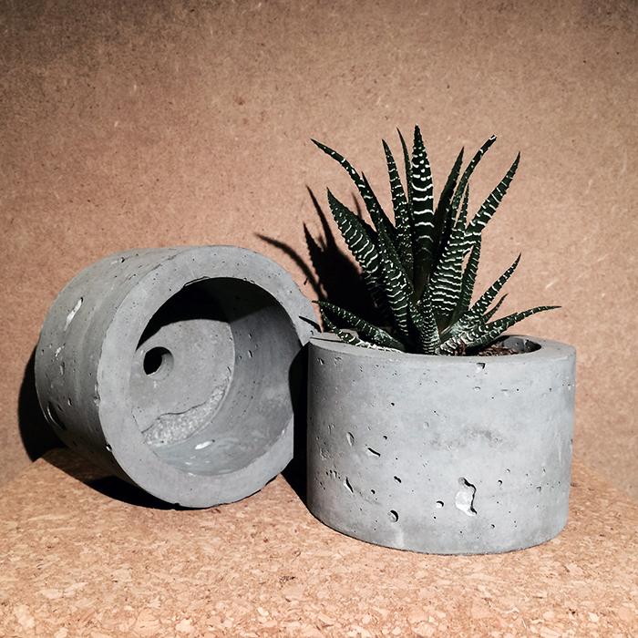 Concrete Circle Pot