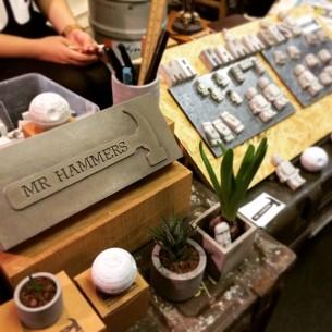 Mr.Hammers @ Maze Market Vol.2  日期:4月25日 及 4月26日  時間:1:00-8:00pm  地點:觀塘開源道47號凱源工業大厦12/F