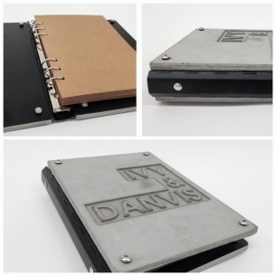 Custom Made Concrete Photo Album 甜味記錄。  Designed by : Mr.Hammers - Stefan Chui Made by : Mr.Hammers - Stefan Chui