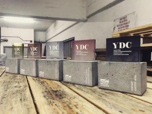 Custom Made Concrete Trophy